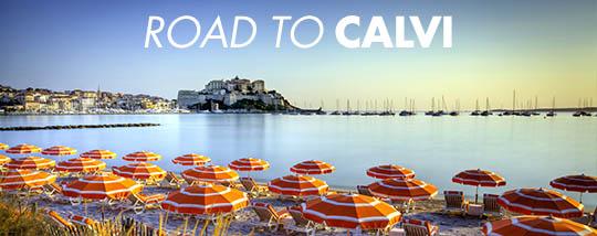 Road to Calvi